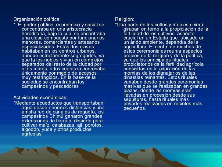 <ul><li>Organización política: </li></ul><ul><li>*. El poder político, económico y social se concentraba en una aristocrac...