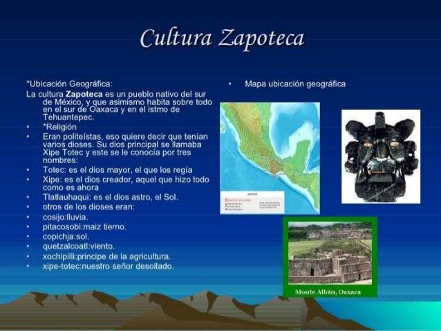 Cultura zapoteca Slide 2
