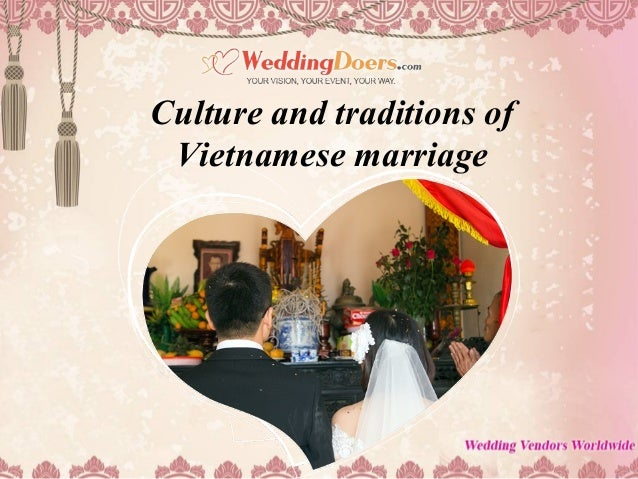 Culture and traditions of Vietnamese marriage
