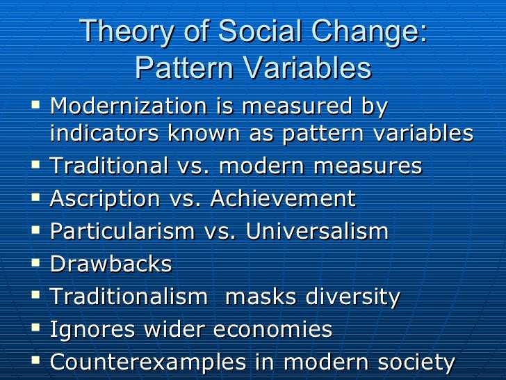 globalization and modernization on traditional or Social transformation implies a fundamental change keywords globalization doxical consequences of modernization and cultural.