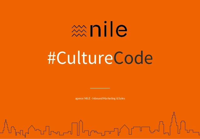 #CultureCode agence NILE - Inbound Marketing & Sales