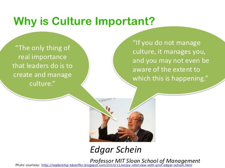 "Why is Culture Important?<br />""If"