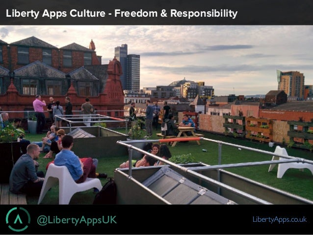 @LibertyAppsUK LibertyApps.co.uk Liberty Apps Culture - Freedom & Responsibility