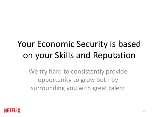 Your Economic Security is based on your Skills and Reputation We try hard to consistently provide opportunity to grow both...