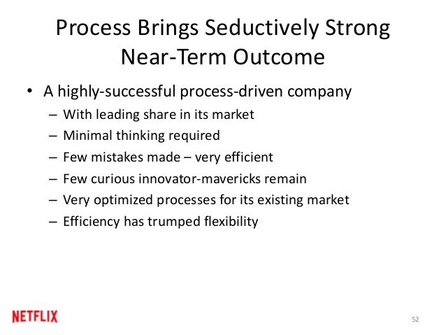 Process Brings Seductively Strong Near-Term Outcome • A highly-successful process-driven company – With leading share in i...