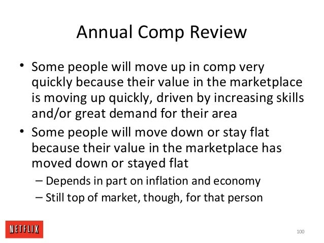 Annual Comp Review • Some people will move up in comp very quickly because their value in the marketplace is moving up qui...