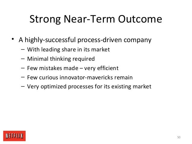 Strong Near-Term Outcome • A highly-successful process-driven company – With leading share in its market – Minimal thinkin...