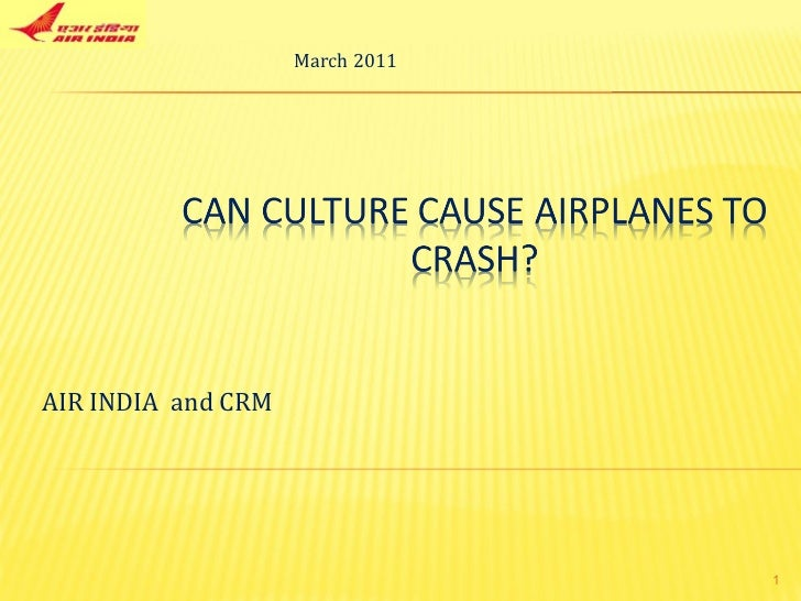 AIR INDIA  and CRM March 2011