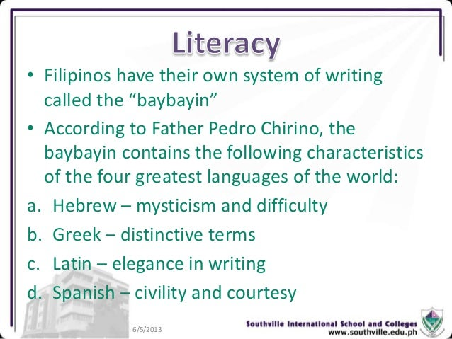 cultural evolution of early filipinos During the late 19th and early 20th century time period, the positivist school also   however, unlike biological evolution, culture can be intentionally taught and.