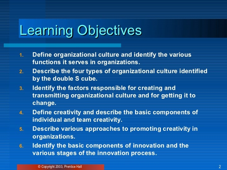 Culture and creativity Slide 2