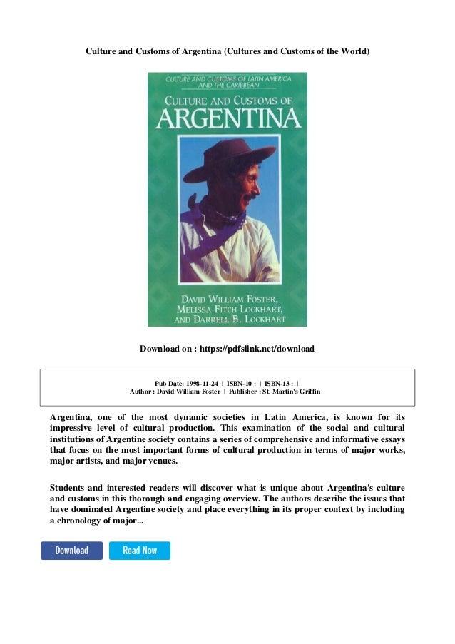 Argentina dating culture