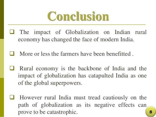 Essay on globalization and its effects