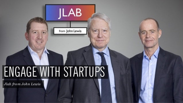 43 ENGAGE WITH STARTUPS Jlab from John Lewis