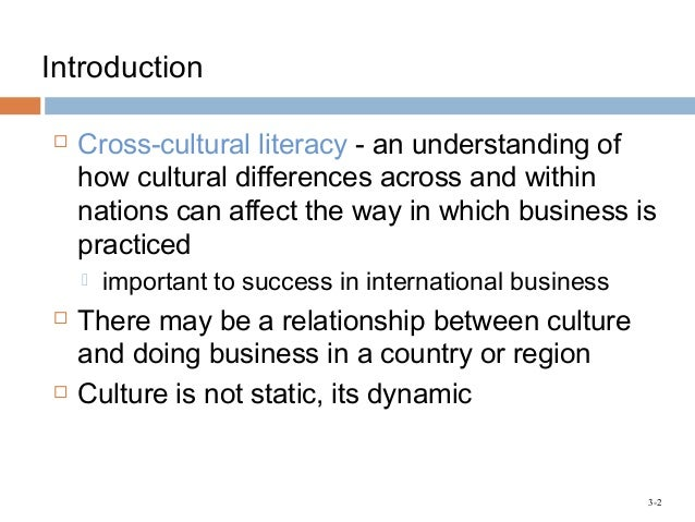 how the culture of a country might influence the cost of doing business in that country Difference in culture: outline why the culture of a country might influence the costs of doing business in that countryillustrate your answer with examples.