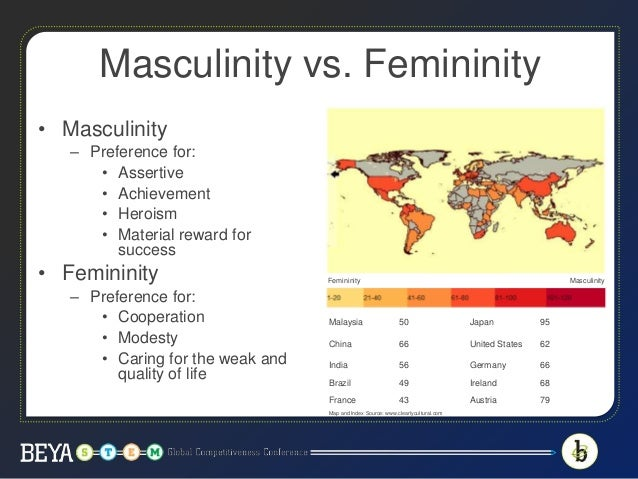 masculinity vs femininity in japan Masculinity vs femininity in japan free essays studymode, masculinity vs femininity in japan culture, definitions of masculinity and femininity have varied dramatically, leading researchers to argue that gender more references related to masculinity and.