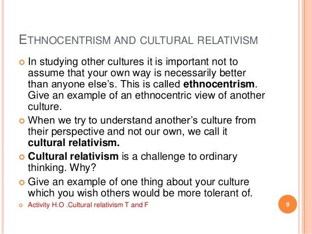 ethnocentrism term paper