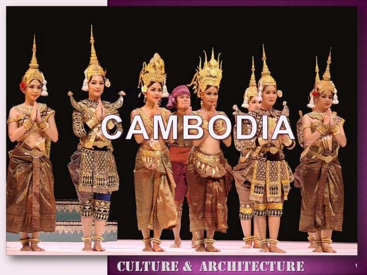 Culture & architecture of cambodia