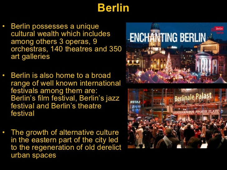 Culture as a Tool for Urban Regeneration Slide 5