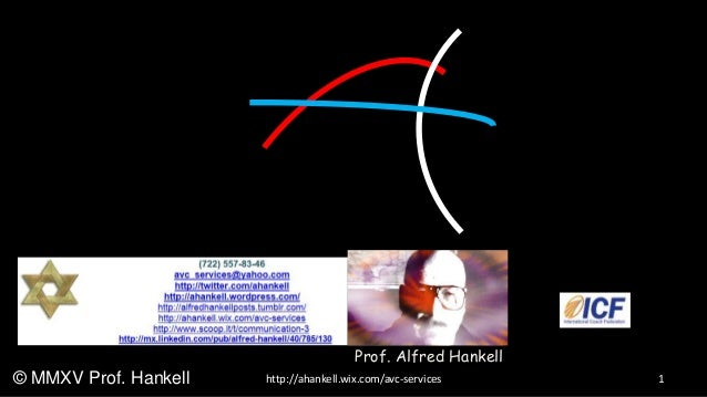 1http://ahankell.wix.com/avc-services© MMXV Prof. Hankell Prof. Alfred Hankell