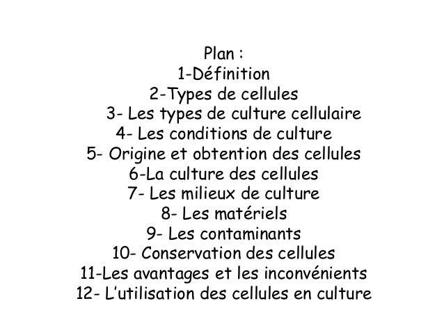 la Culture cellulaire Slide 2
