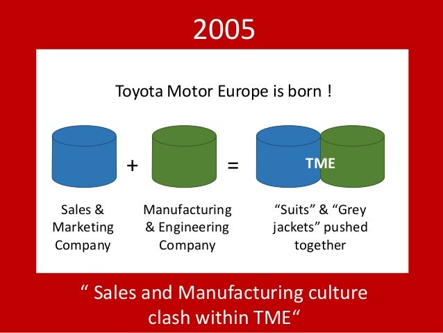 toyota in france culture clash But the partnership had fizzled out by 2014, partly because of the culture clash between toyota's conservative, safety-first engineering and tesla's risk-taking the financial times and its journalism are subject to a self-regulation regime under the ft editorial code of practice.