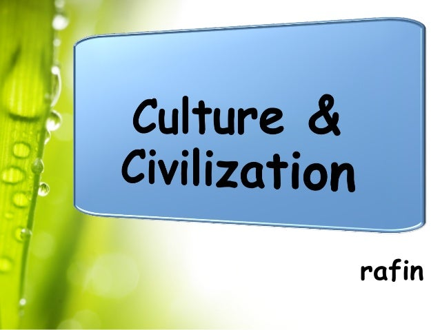 Islamic civilization and culture ppt download.