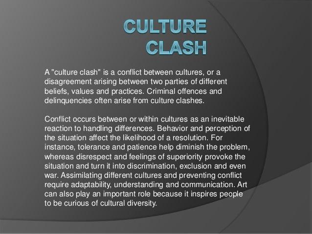 culture clash examples