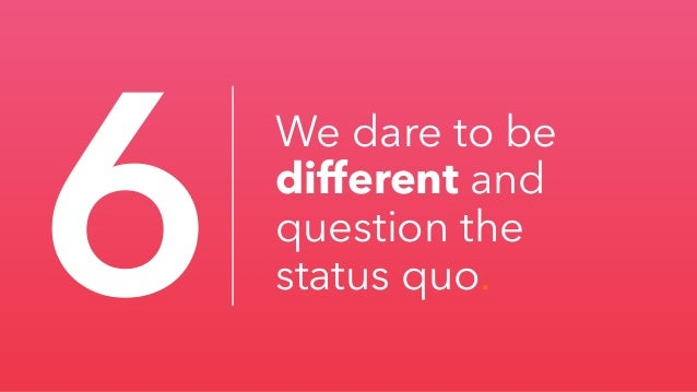 Why do we care so much about being different?