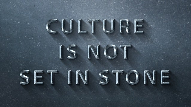 Our best people don't just fit our culture, they further it.