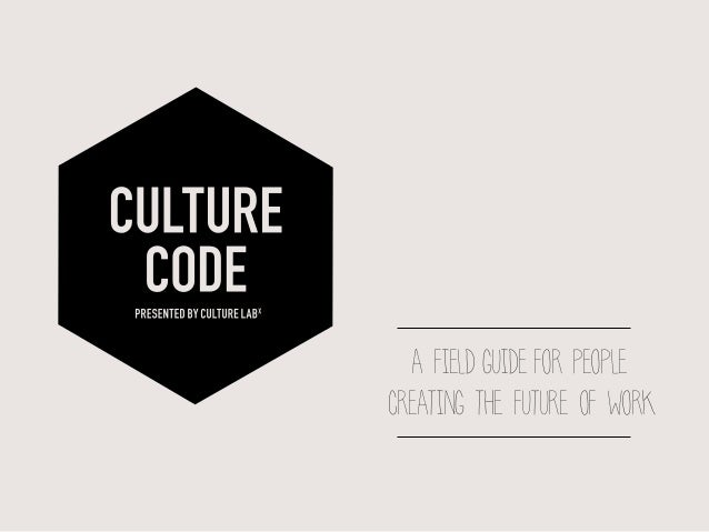 a field guide for people creating the future of work