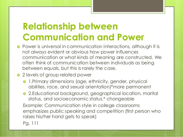 relationship between language communication and society