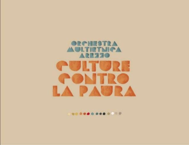 Orchestra Multietnica di Arezzo - Culture contro la paura 2019