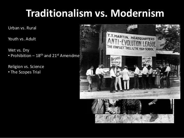 Essay/Term paper: Modernism vs. neo-traditionalism