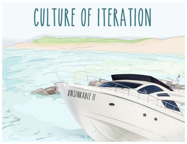 Culture of iteration UNSINKABLE ii