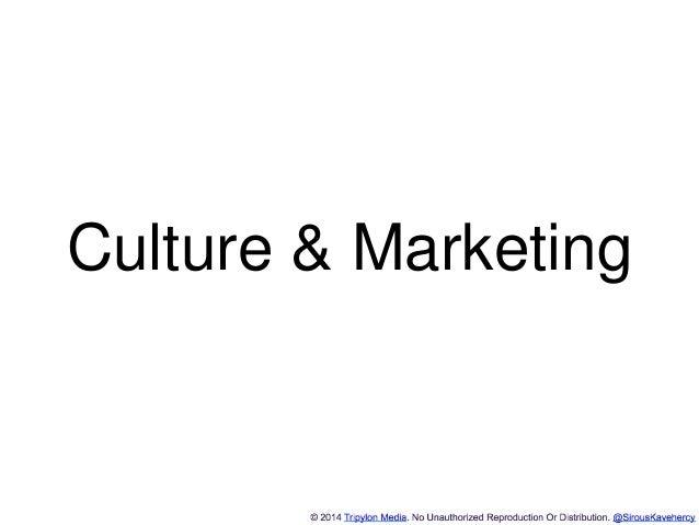 http://www.tripylonmedia.com Culture & Marketing