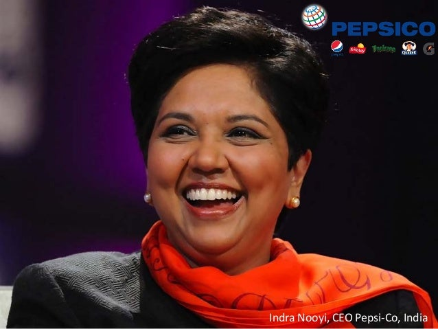 http://www.tripylonmedia.com Indra Nooyi, CEO Pepsi-Co, India