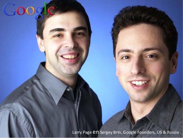 http://www.tripylonmedia.com Larry Page en Sergey Brin, Google Founders, US & Russia
