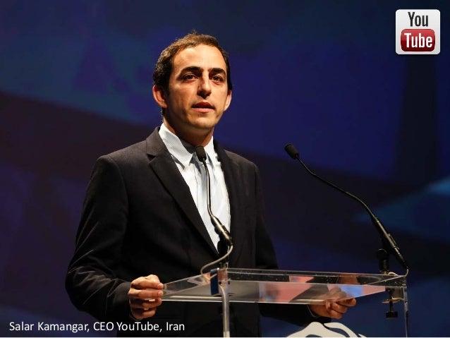 http://www.tripylonmedia.com Salar Kamangar, CEO YouTube, Iran