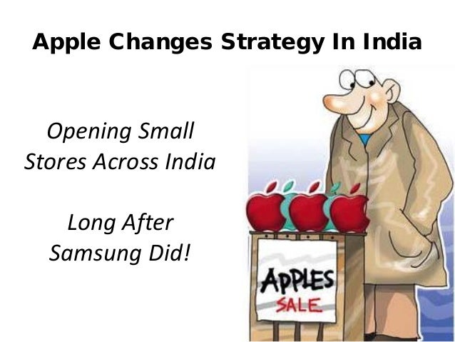 http://www.tripylonmedia.com Apple Changes Strategy In India Opening Small Stores Across India Long After Samsung Did!