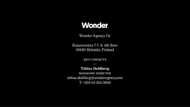 Wonder Agency Oy