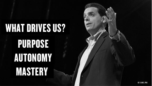 Copyright © 2015 Wonder Group. wonderagency.com PURPOSE AUTONOMY MASTERY WHAT DRIVES US? REF: DANIEL PINK