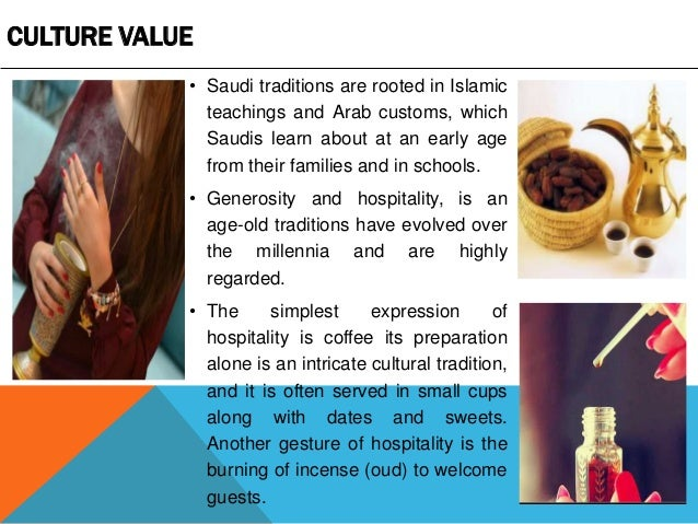 the culture and tradition in saudi arabia Food in saudi arabia - saudi arabian  the culture, as well as the laws of saudi arabia,  the month-long celebration of ramadan builds on this tradition, .