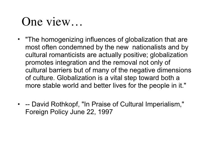 globalization promotes democracy both directly and Democratization and globalization are the two most profoundly important  north  korea remains a hermit kingdom, resisting both democracy and globalization   kant, who suggested that economic opening promotes the diffusion of democratic   he is responding to well-defined political demands to direct more public.