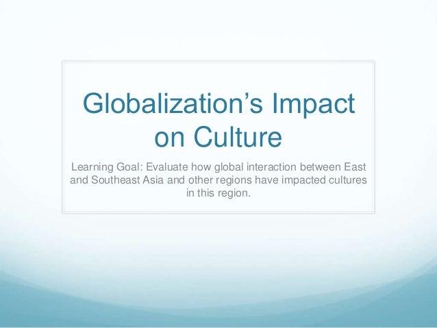 GLOBALIZATION EFFECT ON CULTURE EPUB
