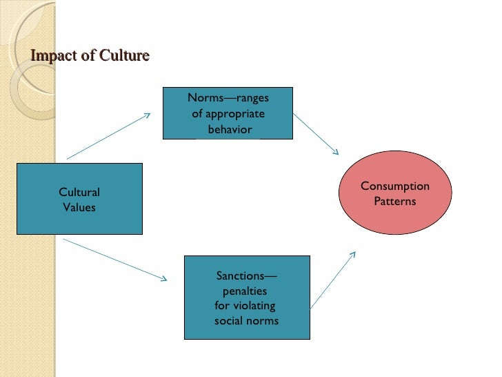 impact of culture on consumer behaviour The impact of cognitive learning on consumer behaviour  paper is to prove its impact on consumer behaviour  knowledge, attitudes, culture, social.