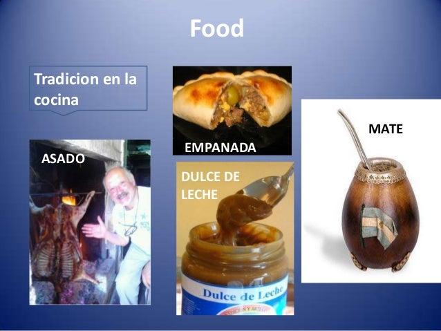Culture jimena argentina for Argentine cuisine culture