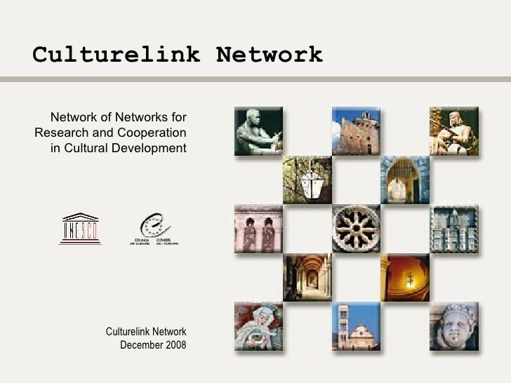 Culturelink  Network  Culturelink Network December 2008