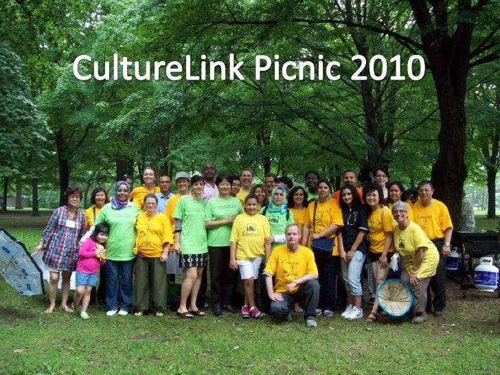 CultureLink Picnic 2010<br />