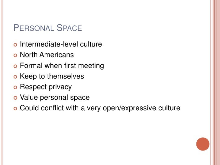 violating personal space norms View essay - norm violation essay from atoc 1060 at university of colorado, denver norm violation paper: violating personal space from the beginning of civilizations, all societies have created.