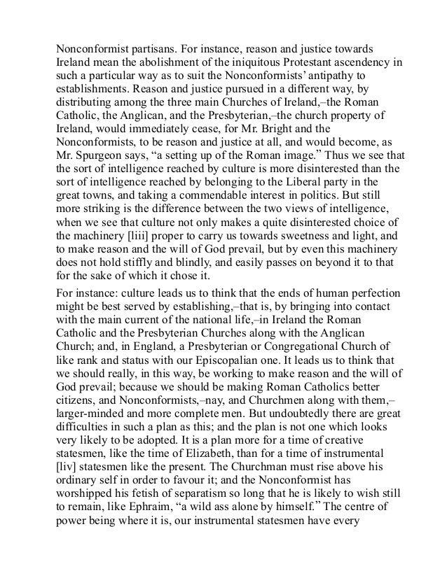Essay on separatism